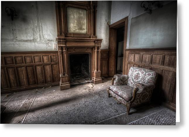 The Duchess Chair  Greeting Card by Nathan Wright