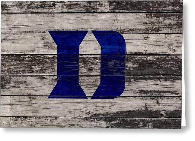 The Duke Blue Devils 3b  Greeting Card
