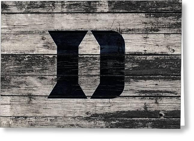 The Duke Blue Devils 3f Greeting Card