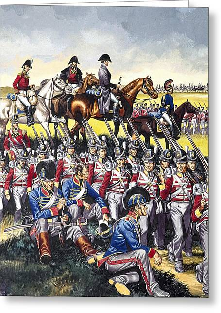The Duke Of Wellington Greeting Card by Ron Embleton