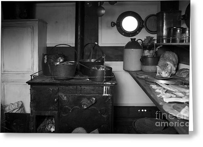 The Dunbrody Crew's Kitchen Greeting Card by RicardMN Photography