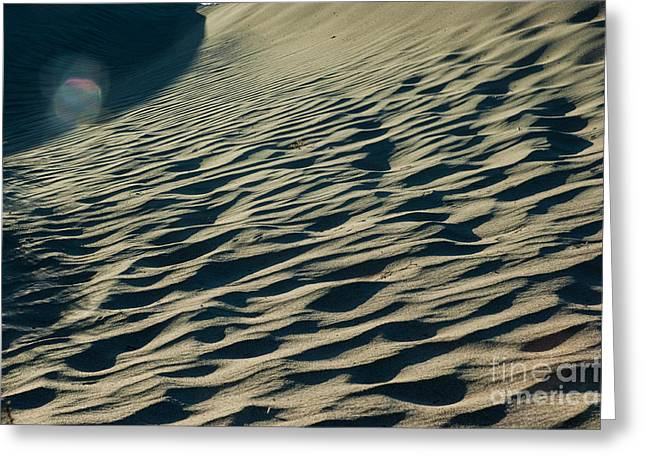 The Dunes Of Death Valley 10 Greeting Card by Micah May