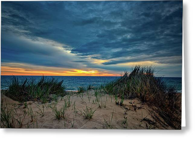The Dunes On Cape Cod Greeting Card by Rick Berk