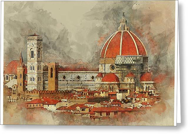 The Duomo Florence Greeting Card