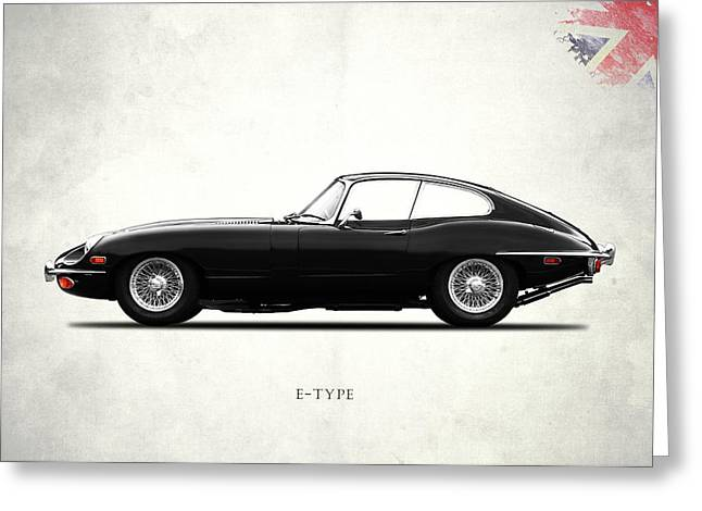 The E Type Greeting Card