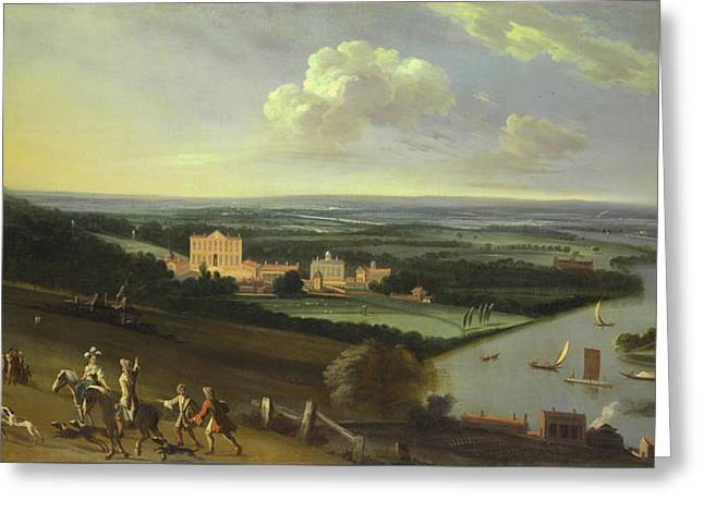 The Earl Of Rochester's House - New Park Richmond Surrey Greeting Card