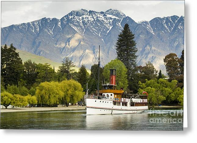 The Earnslaw Greeting Card