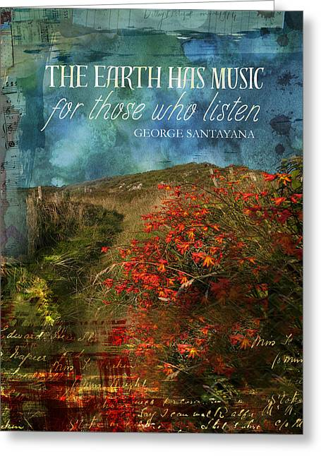 The Earth Has Music Greeting Card