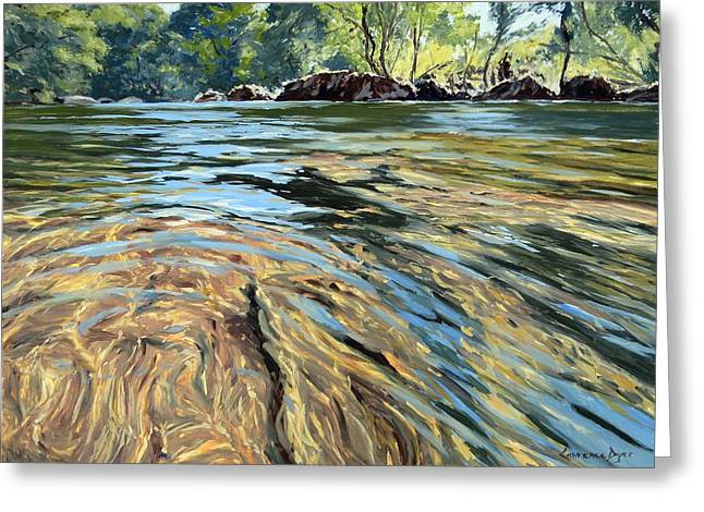 The East Dart River Dartmoor Greeting Card
