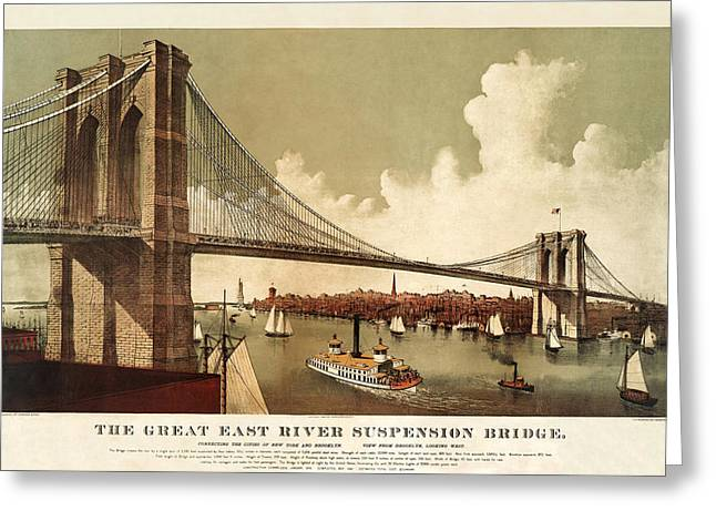 The East River Greeting Card