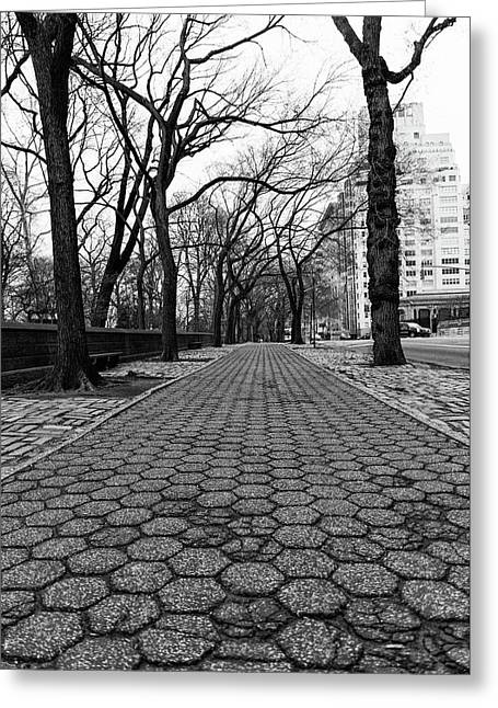 Greeting Card featuring the photograph The Edge Of The Upper East Side by Lora Lee Chapman