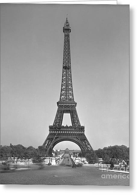 The Eiffel Tower Greeting Card by Gustave Eiffel