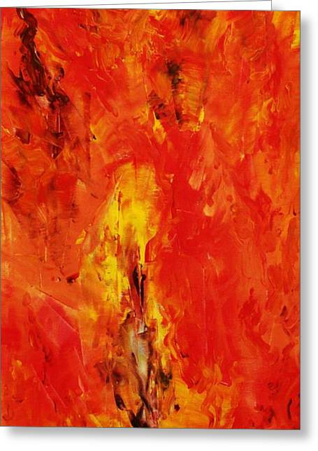 The Elements Fire #1 Greeting Card