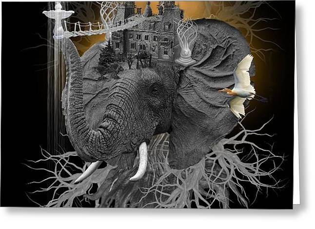 The Elephant Kingdom Greeting Card