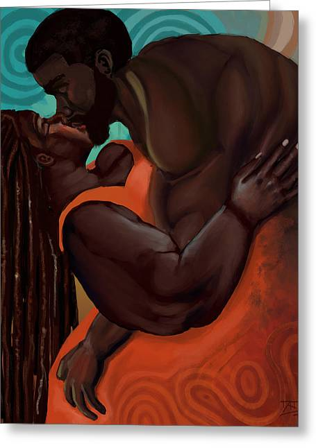 The Embrace Greeting Card by David James
