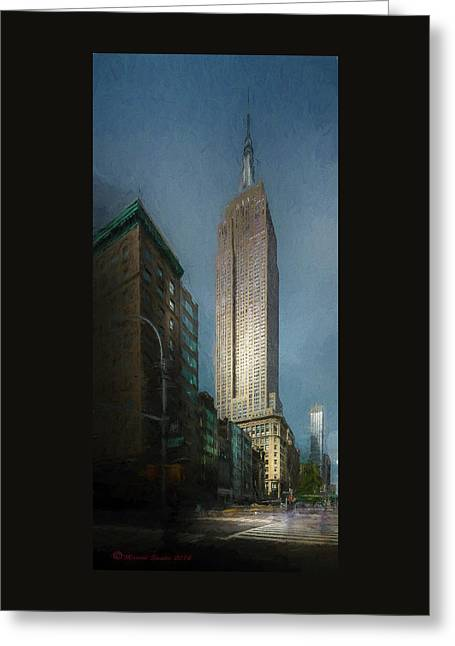 The Empire State Greeting Card by Marvin Spates