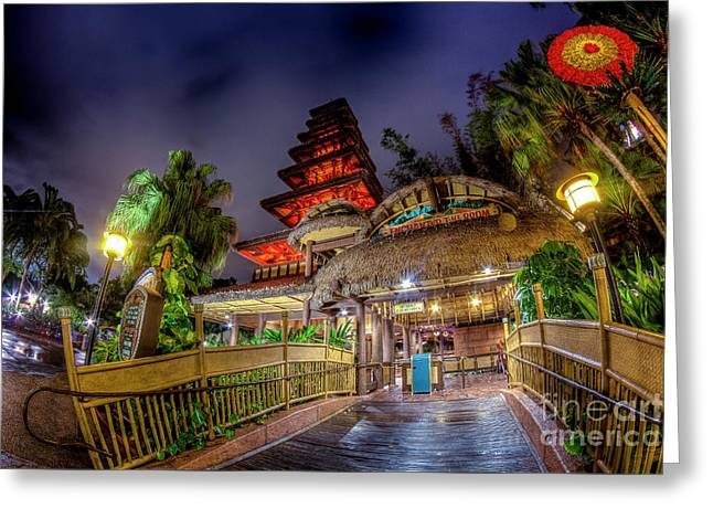 The Enchanted Tiki Room Greeting Card