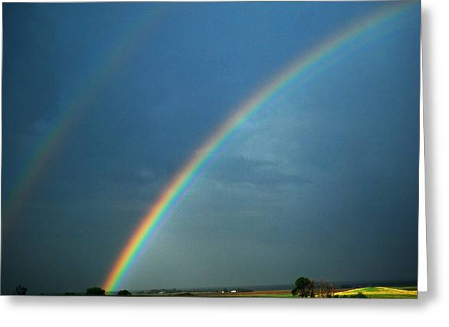 The End Of The Rainbow Greeting Card