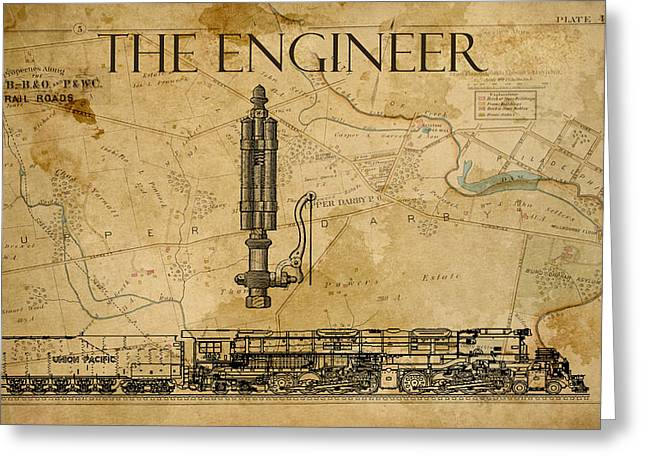 The Engineer Greeting Card