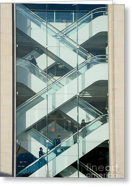 The Escalators Greeting Card