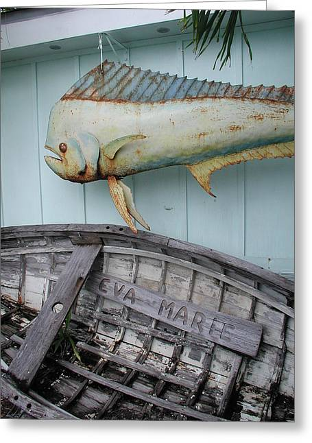 Greeting Card featuring the photograph The Eva Marie by Nancy Taylor