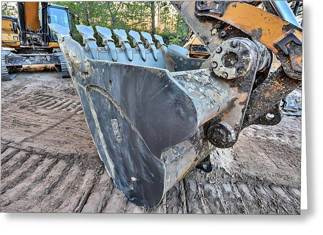 The Excavator  Greeting Card by JC Findley