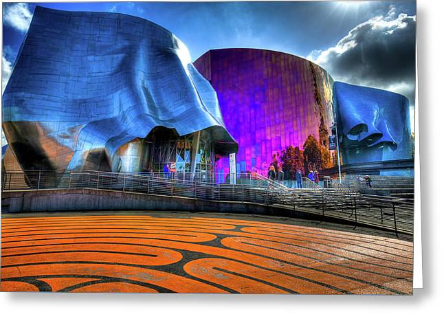 The Experience Music Project Greeting Card