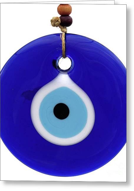 The Eye Against Evil Eye Greeting Card