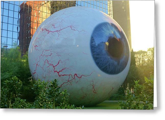 The Eye Dallas 1 Of 5 Greeting Card