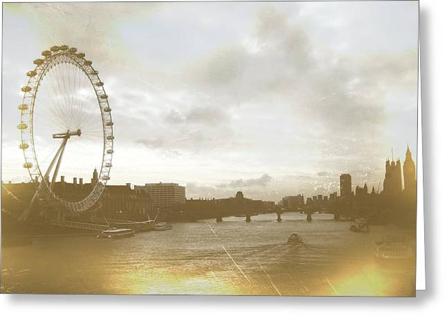 The Eye Of London Art Greeting Card by JAMART Photography