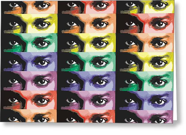The Eyes Have It Two Greeting Card