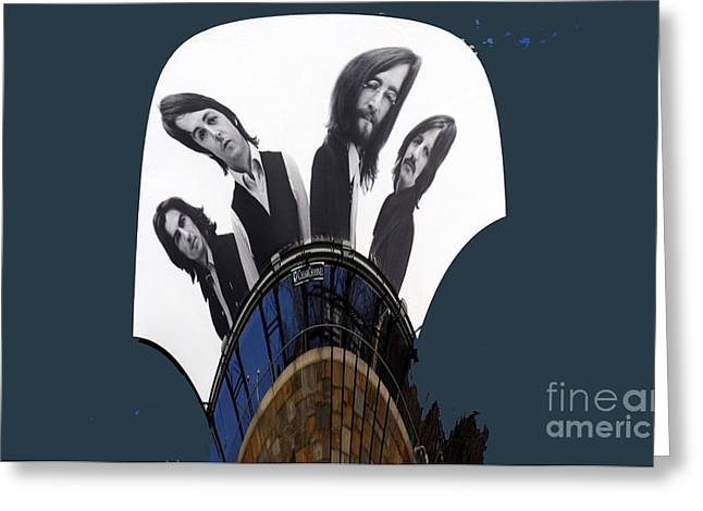 The Fab Four Greeting Card by Marcia Lee Jones