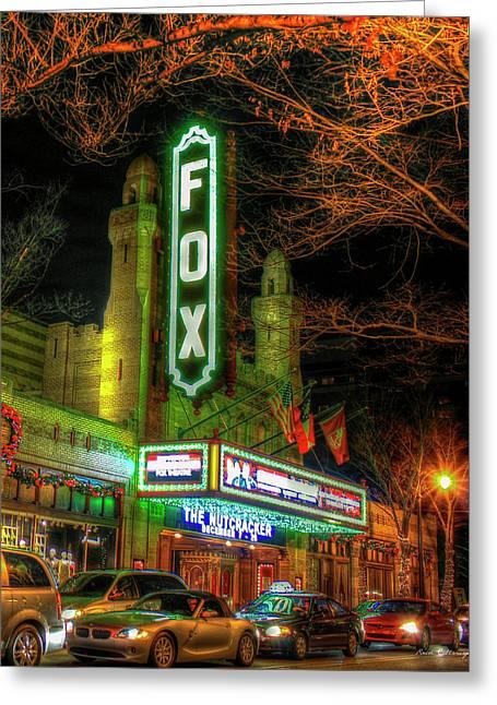 The Fabulous Fox Theatre Atlanta Georgia Art Greeting Card by Reid Callaway