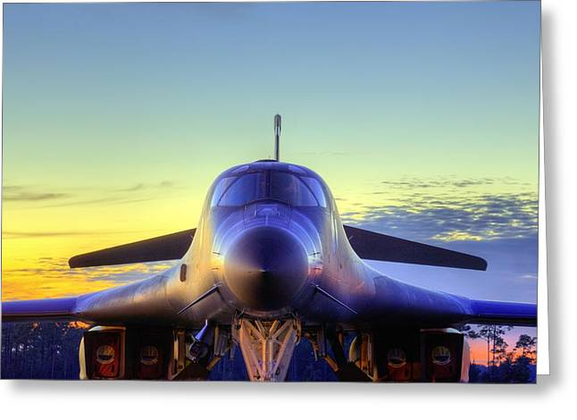 The Face Of American Airpower Greeting Card by JC Findley