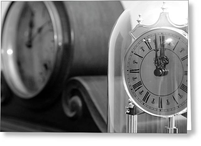 Greeting Card featuring the photograph The Faces Of Time by Wanda Brandon