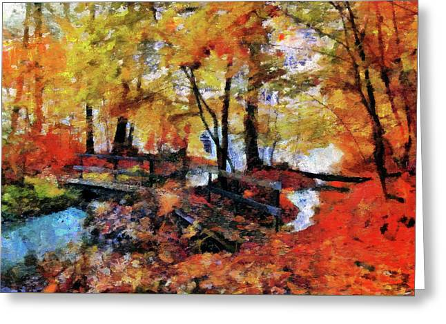The Failing Colors Of Autumn Greeting Card