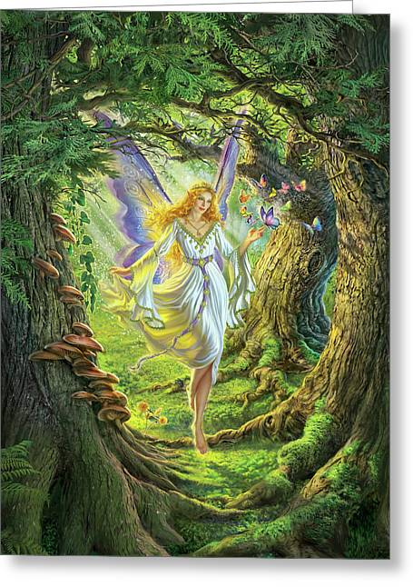 The Fairy Queen Greeting Card