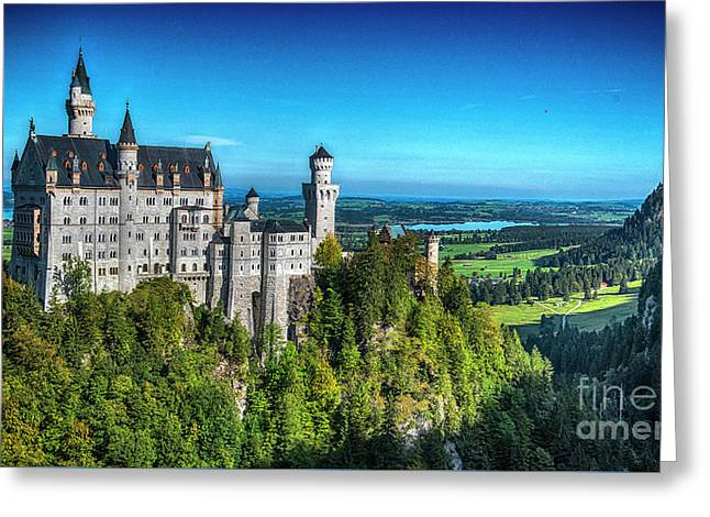 The Fairy Tale Castle Greeting Card