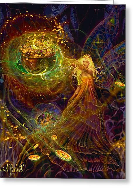 The Fairy Treasure Greeting Card