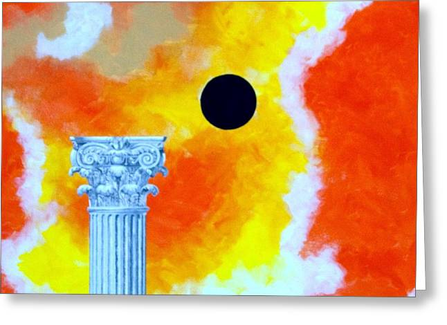 The Fall Of Rome Greeting Card