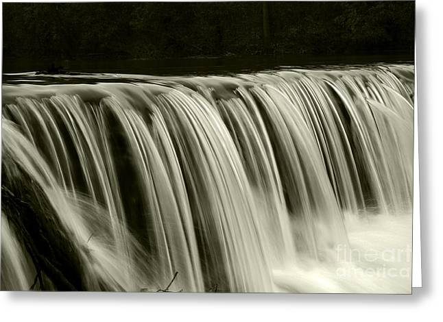 The Falls Greeting Card by Timothy Johnson