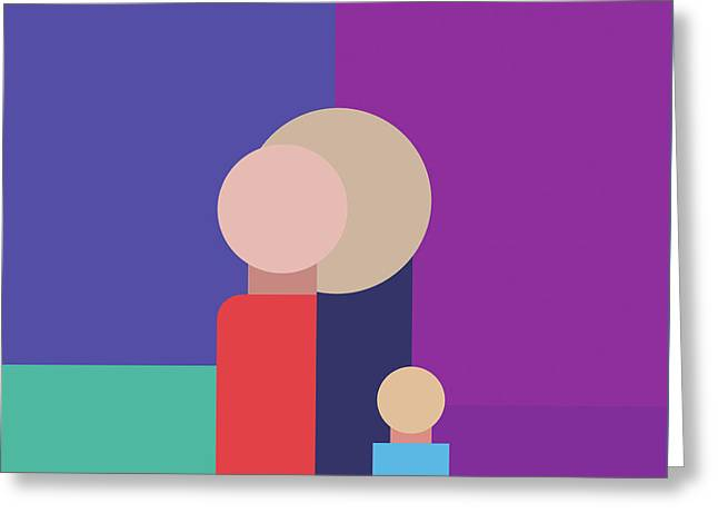 The Family Greeting Card by Mari Biro