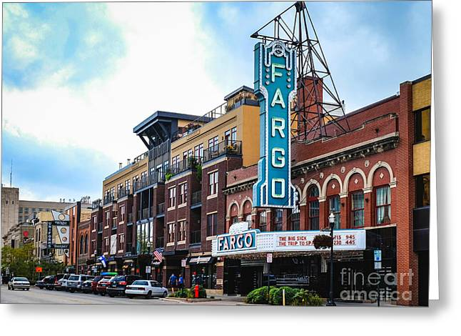 The Fargo Theater Greeting Card