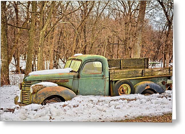 The Farm Truck Greeting Card by Bonfire Photography