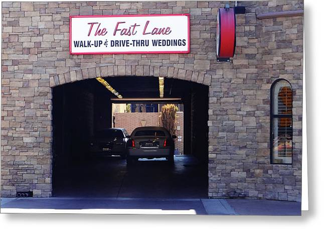 The Fast Lane 2 Greeting Card by Bruce Iorio