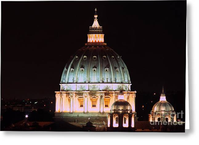 The Father Of All Domes I Greeting Card by Fabrizio Ruggeri
