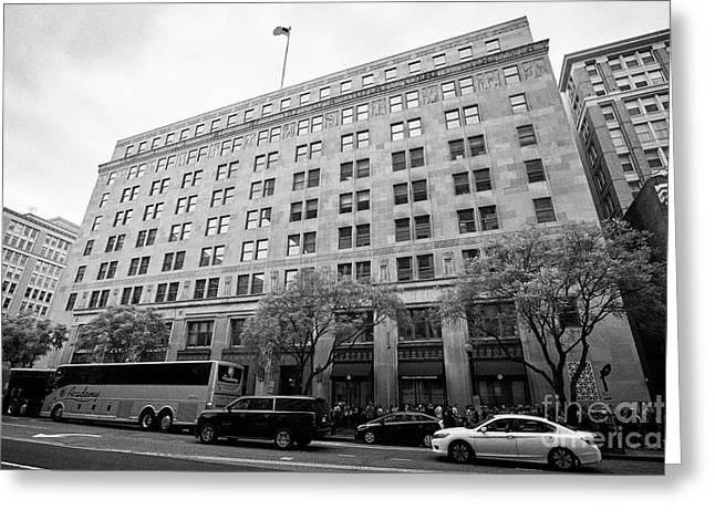 The Federal Election Commission Fec Building Washington Dc Usa Greeting Card