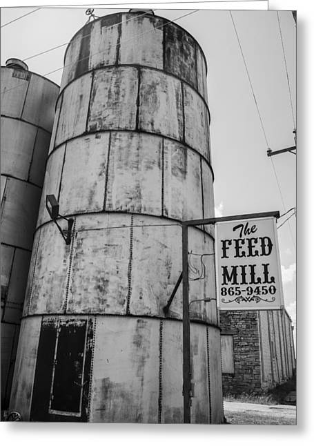 The Feed Mill Greeting Card by Craig David Morrison