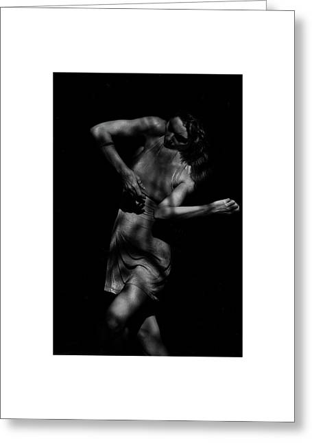Greeting Card featuring the photograph The Feminine 2 by Catherine Sobredo