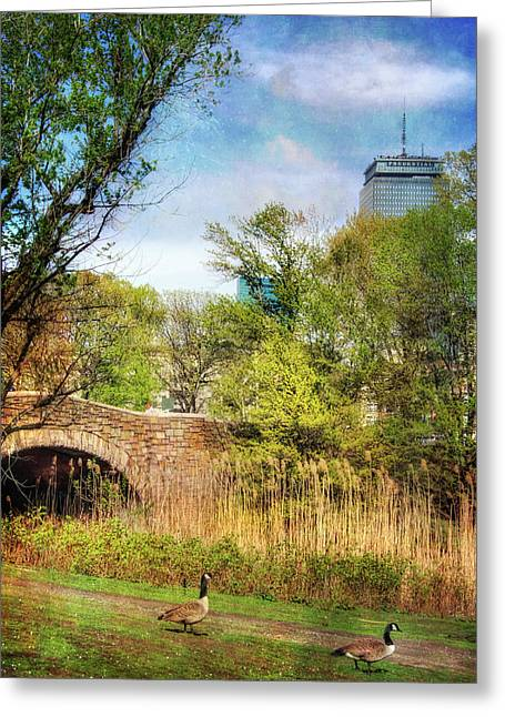 The Fens - Boston Greeting Card